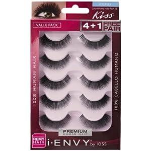 c38d1348792 Amazon.com : Kiss I Envy Juicy Volume 13 Value Pack 4+1 Lashes : Beauty