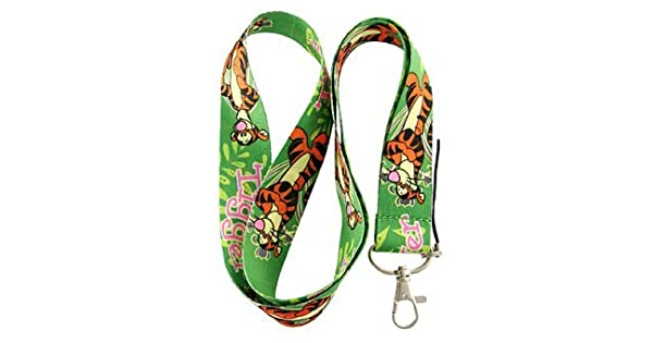 Amazon.com: Tigger Verde Llavero Lanyard: Office Products