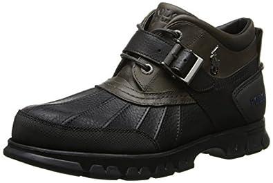 Amazon.com | Polo Ralph Lauren Men's Dover III Boot, Black