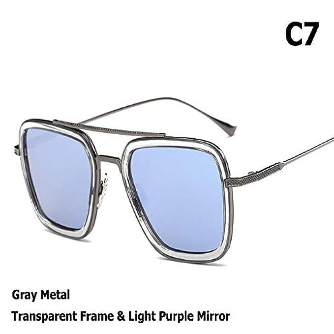 Uomo Square Flight De Da Zhouyf G Sole Occhiali Masculino Aviation Sol Fashion Oculos Style Donna The