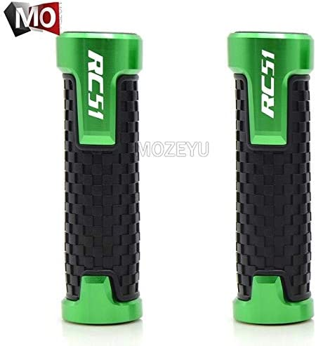 """Amazon.com: Occus Grips 7/8"""" 22MM Motorcycle Handlebar Hand Grips Handle Motorbike for Honda RC51/RVT1000 SP-1/SP-2 2000-2006 2001 2002 2003 2004 2005 - (Color: Green): Sports & Outdoors"""