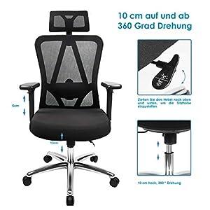 Drehstuhl Kunden Zuerst Chefsessel Schreibtischstuhl Arbeitsstuhl Bürostuhl