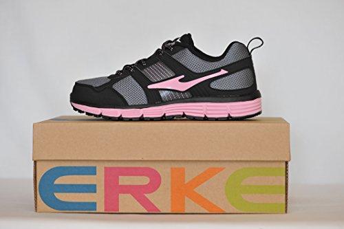 Rose Femme Erke Fitness Grise de et Chaussures BBxAYta