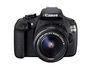 Canon EOS 1200D Digital SLR Camera with EF-S 18-55mm f/3.5-5.6 III Lens - International Version (No Warranty)