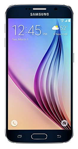 Samsung Galaxy S6, G920P Black Sapphire 64GB – Sprint (Certified Refurbished)