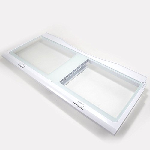 Samsung DA97-07565B Refrigerator Crisper Drawer Cover Assembly Genuine Original Equipment Manufacturer (OEM) Part