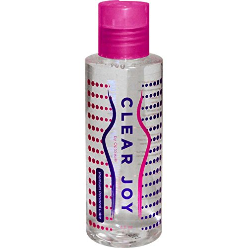 Optisex Clear Joy Premium Personal Lube, 4.0 Ounce