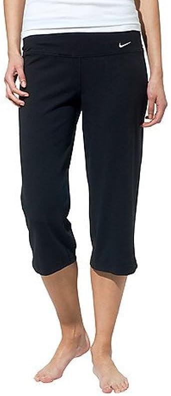 tijeras Resistencia camino  Amazon.com : Nike Lady Loose Dri-Fit Capri Pants - X Large - Black :  Running Compression Tights : Clothing