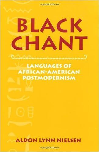 amazon com black chant languages of african american postmodernism