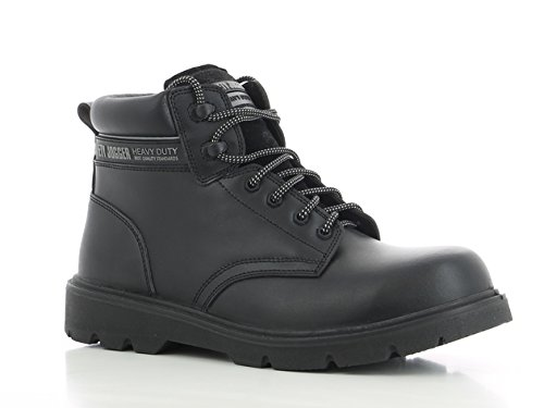 SAFETY JOGGER X1100N Men Safety Toe Lightweight EH PR Water Resistant Mid Cut Boot, M 11.5, Black by SAFETY JOGGER (Image #1)