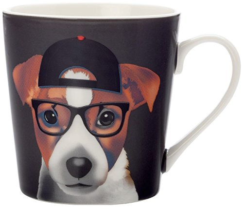 Christopher Vine Presents The Mini Mob Jack Jack Russel Terrier Dog Mug 350ml
