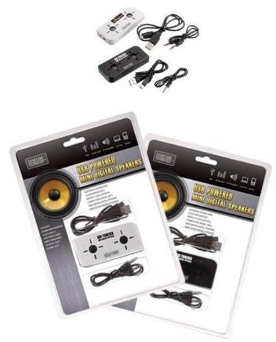 USB Powered Mini Digital Speakers - Ultra Portable Speaker S