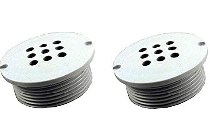 Pack of 2 CMP 25503-001-000 Pool Bubbler 1-1/2-Inch Grey