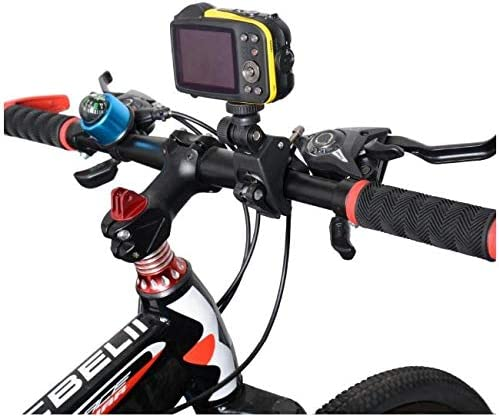 Samsung Galaxy Compatible with Any Tripod Compatible with iPhone and HTC Android Pixel Action Mount or GoPro Mount Accessory BlackBerry Universal Smartphone Bike Holder Adapter Kit