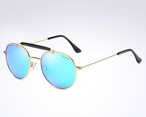 Gafas CMCL Sol de Blue Colorido de Las Conductor los de de Espejo del de Sol polarizadas Las Capullos Hombres Caminante de Gafas 7qarw6x7Rp