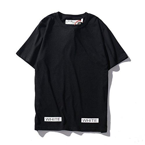 悪化させるアレルギー石灰岩OFF-WHITE(オフホワイト) ファッション メンズ Tシャツ 夏 男女兼用 半袖 カジュアル トップス