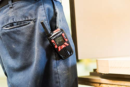 Craftsman CMXZRAZF333 Walkie Talkies Two-Way Business Radios (Pair) by Craftsman (Image #10)