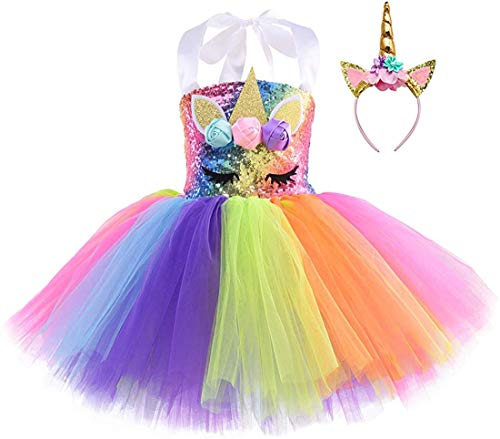 Unicorn Costume for Girls Dress Up Clothes