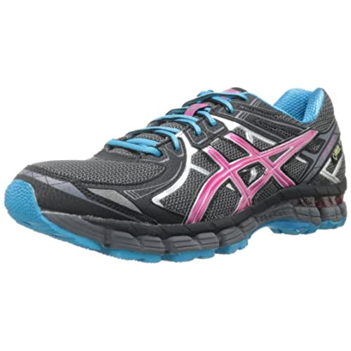 Asics Gt-2170 Women Titanium/Charcoal/Lime Running Shoes 37851