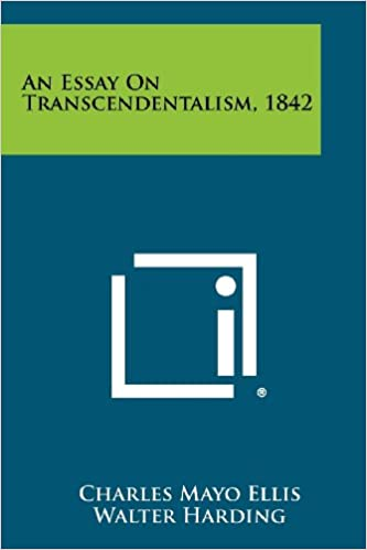 An Example Essay An Essay On Transcendentalism  Charles Mayo Ellis Walter Harding   Amazoncom Books Simple Gift Essay also Romeo And Juliet Analytical Essay An Essay On Transcendentalism  Charles Mayo Ellis Walter  Writing Essays For Dummies
