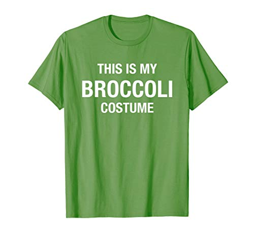 Broccoli Costumes For Halloween (Halloween My Broccoli Costume Green Funny Lazy)
