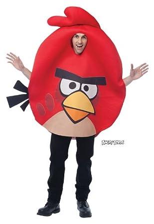 Angry Birds traje rojo: Amazon.es: Juguetes y juegos