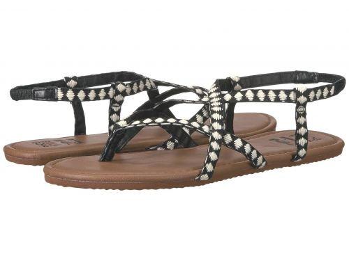 Billabong(ビラボン) レディース 女性用 シューズ 靴 サンダル Crossing Over - Black/White [並行輸入品]