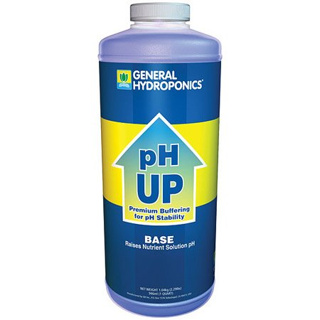 General Hydroponics pH Up Adjusting Solution - 1 Quart