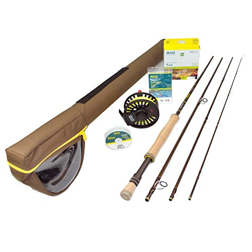 Redington Path Fly Fishing Outfit (890-4) - 8 Weight, 9' Salt Water Fly Fishing Rod w/Crosswater Fly Reel