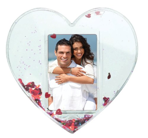 Heart Photo Snow Globe (Photo Snowglobe)