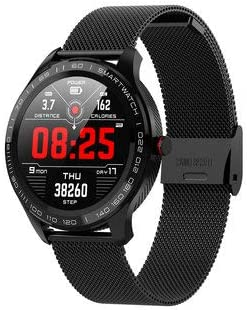 Amazon.com: Fitness Tracker Watch Microwear L9 Full Round ...