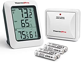 ThermoPro TP60 indoor outdoor thermometer hygrometer