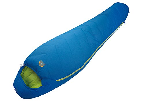 Alpinizmo High Peak USA Summit 20 Sleeping Bag with Free Compression Sack, Blue, Regular -