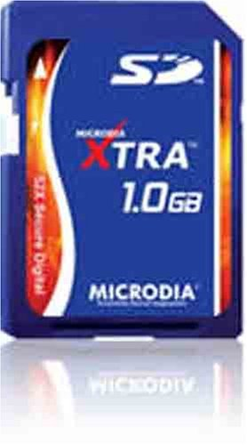 Amazon.com: MICRODIA Xtra 52 x SD de 1 GB tarjeta de memoria ...