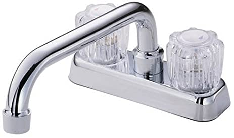 Danze D100401 Melrose Two Handle Laundry Faucet with Acrylic Handles ...