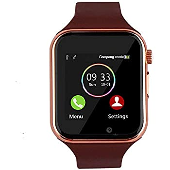 Bluetooth Smart Watch - Aeifond Touch Screen Sport Smart Wrist Watch Smartwatch Fitness Tracker Camera Pedometer SIM TF Card Slot Compatible Samsung ...