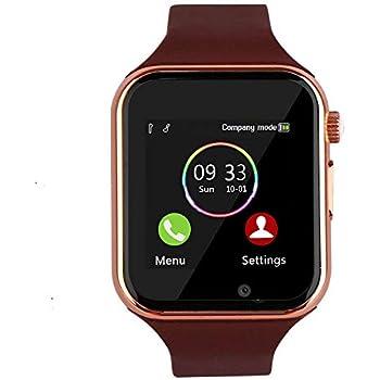 Aeifond Smart Watch Touch Screen Sport Smart Wrist Watch Bluetooth Smartwatch Fitness Tracker Camera Pedometer SIM TF Card Slot Compatible Samsung ...