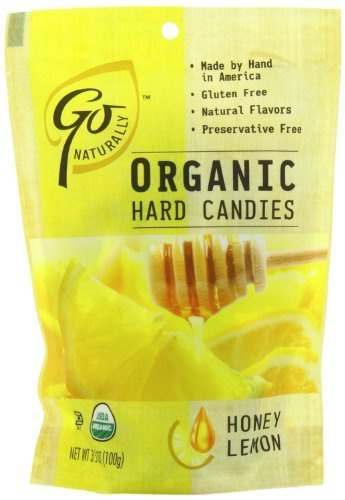 Go Naturally, Candy Honey Lemon Org, 3.5-Ounce by GoNaturally