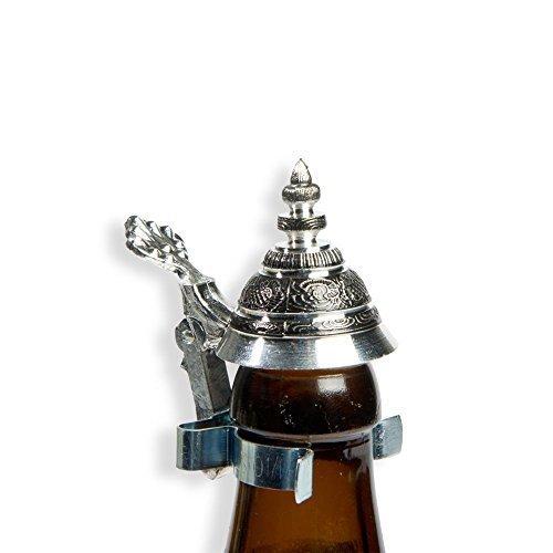 Bierflaschen Spitz-Zinndeckel meinherzschlag.de