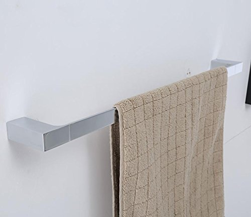 HJKLL-Single bar Towel rack, bathroom accessories, durable non-corrosive, lead, cadmium and other heavy metals, environmental health by HJKLL (Image #3)'