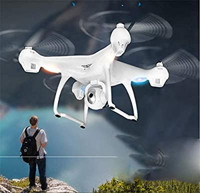 WANG UAV, Intelligent GPS Automatically Follow The UAV, Set high Positioning Automatic Return Remote Control Four Axes,White