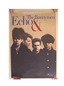 Echo & The Bunnymen Poster Band Image Bunny Men And