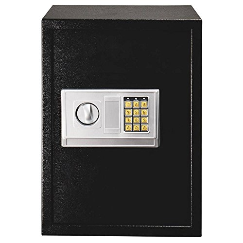 Large Electronic Digital Keypad Lock Security Safe Box for Home Office Hotel Gun Jewelry Money Safe Storage Box