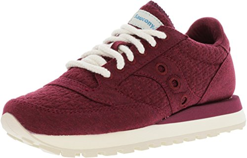 Jazz Women's Original Originals Burgundy Sneakers CL Saucony 84ExqnUWf