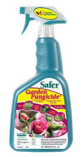 Roses Fungicide Organic (Safer Brand Garden Fungicide Ready to Use 24 Ounces 5455 (2 Pack) - Includes the SJ pest guide eBook)