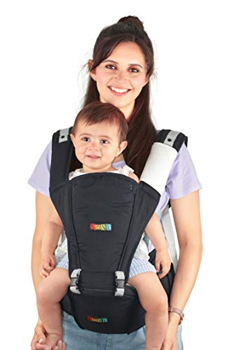 Baby Carrier Hip Seat Sling by Nimnyk Best Safe Backpack Carriers Back Pain...