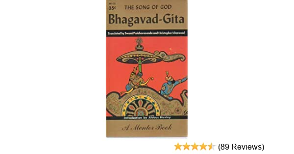 Bhagavad-Gita: The Song of God (1st Mentor Paperback ...