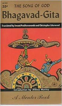 Bhagavad-Gita: The Song of God (1st Mentor Printing, 1954)