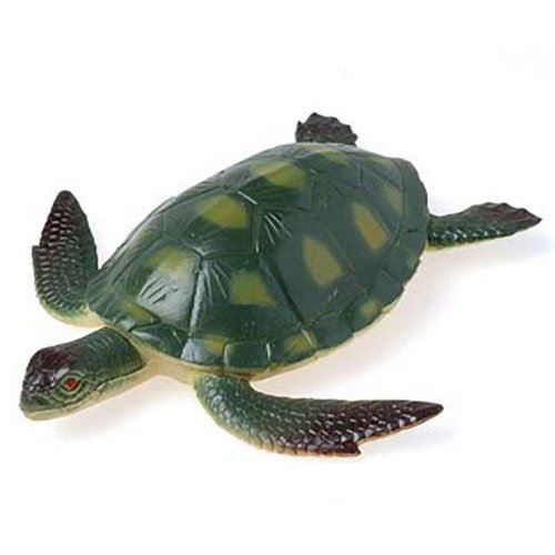(US Toy Green Plastic Realistic Toy Sea Turtle (1))