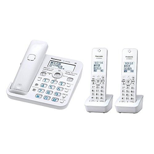 パナソニック 電話機 RURURU VE-GZ50DW-W [ホワイト]   B01GO6YTIC